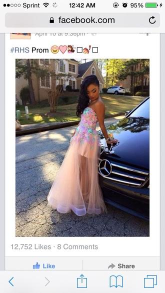 dress multi colored