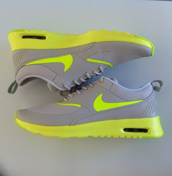 shoes nike running shoes grey green
