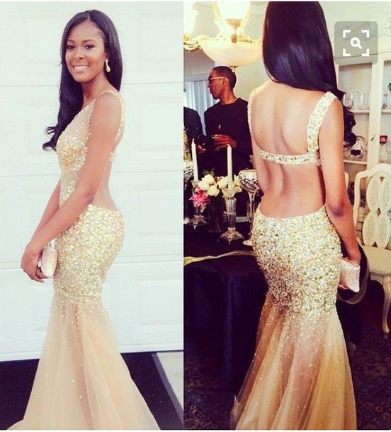 Nice gold dresses Color dress style