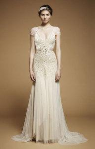 JENNY PACKHAM Wedding Dress Willow 12 Perfect Condition Amanda Wakeley  Temperley | EBay