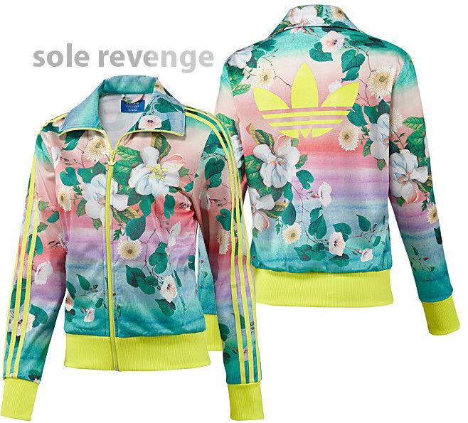 New Farm Adidas Track Originals L Flower Brazil Floralina Firebird F78107 Jacket 5F3l1cKuTJ