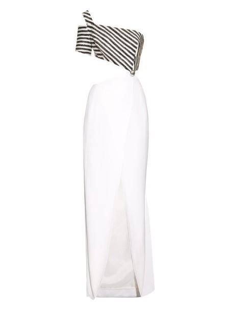 MUGLER gown white dress
