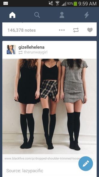 skirt plaid skirt