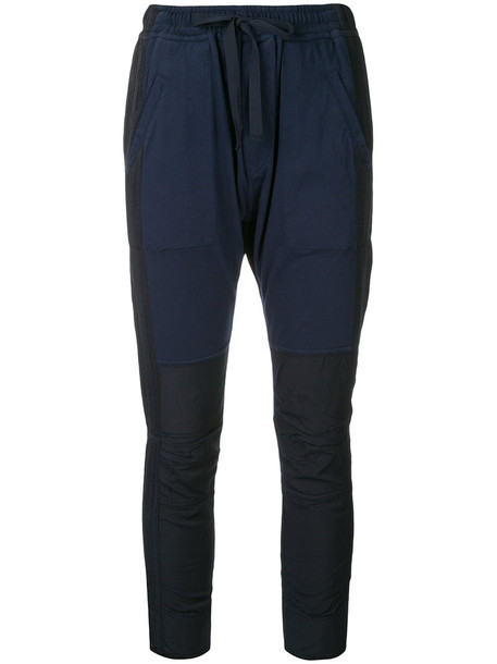 Haider Ackermann pants women cotton blue