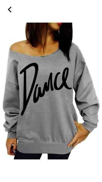 blouse dance grey shirt
