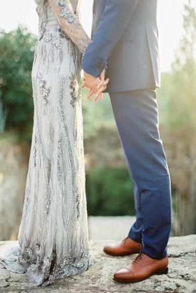 wedding dress dress embellished dress hipster wedding elegant