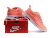 shoes,automatic pink,peach,nike air max thea,coral