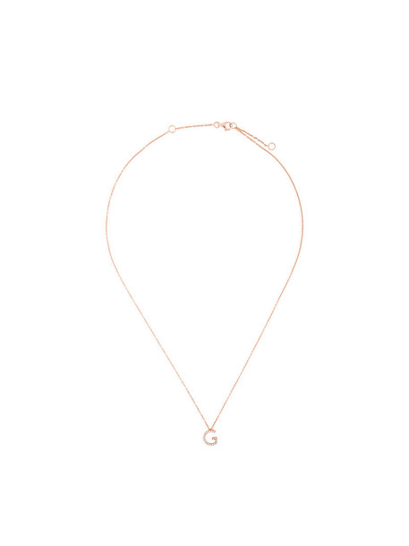 Alinka rose gold rose women necklace diamond necklace gold grey metallic jewels