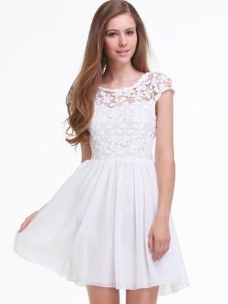 dress lace dress hipster vintage indie white dress vintage dress casual dress white lace dress mini dresses cut out dress