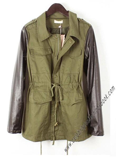 Army Style Parka Jacket