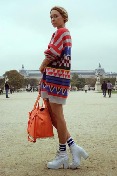 martina m sweater bag shoes