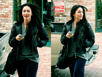 megan fox winter cool comfy