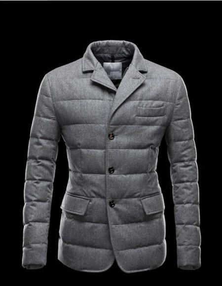 grey wool jacket style wollen coat menswear mens jacket winter coat
