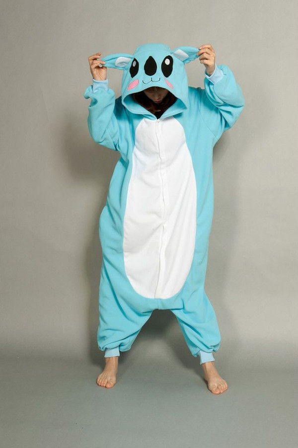 jumpsuit kawaii coala sweet onesie