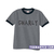 GNARLY grey unisex ringer T-Shirt - teenamycs