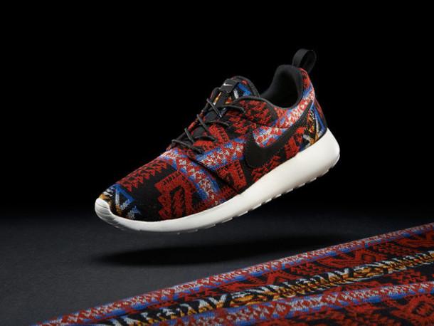 9b856b668571 clearance nike roshe run black anthracite aztec tribal print v5 edition  custom men women db65c 7f1c7  low price nike roshe run red native 8d3a2  b721d