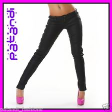 NEW Sexy Women'S Pants Hairdresser LOW Rise Faux Leather Clubwear Fashion | eBay