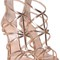 Giuseppe zanotti mirrored-leather cage sandal