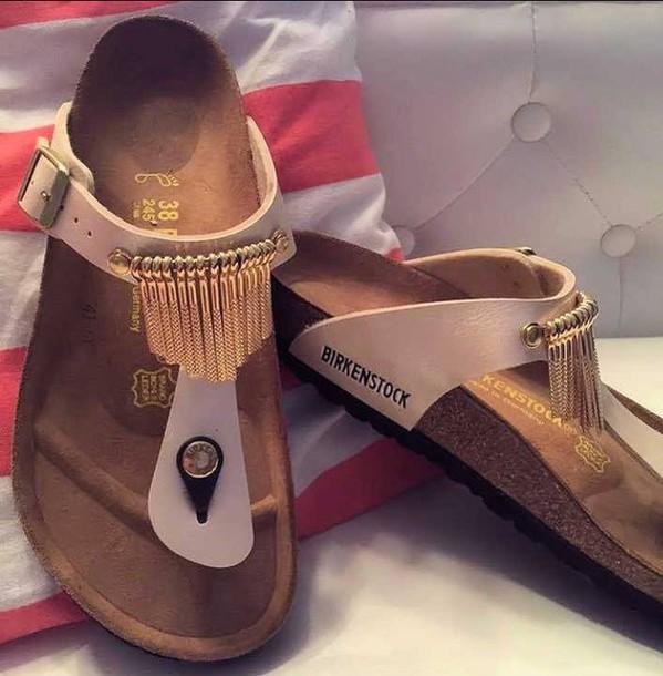 787eacc668d4 shoes birkenstocks gizeh beige sandals summer cozy flat sandals