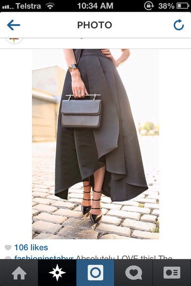 dress formal dress black formal skirt black skirt long skirt fashion skirts black dress amazing black elegant formal skirt spring summer outfits winter sweater winter/autumn