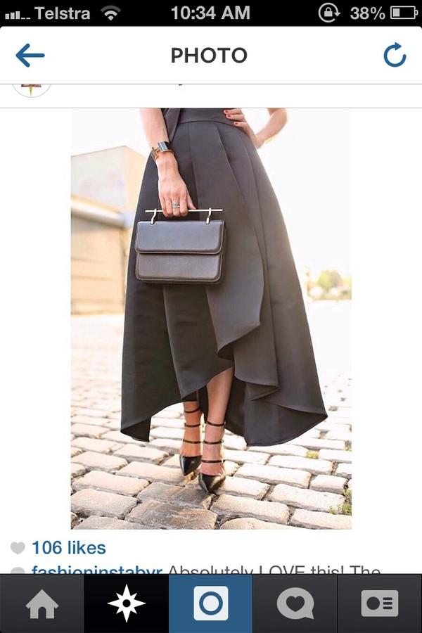 skirt black skirt dress long skirt fashion skirts black dress black amazing black elegant formal formal skirt formal dress spring summer outfits winter sweater autumn/winter