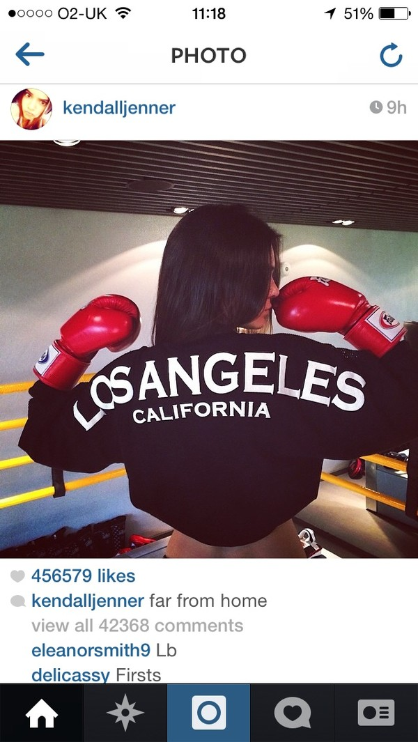 sweater kendall jenner black los angeles white cali shirt sweater jacket los angeles top t-shirt