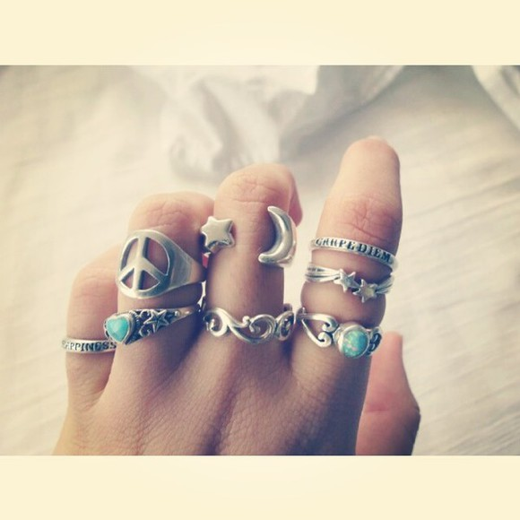 ring jewels rings mid finger rings silver rings big rings