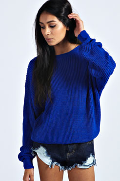 Katherine Oversized Jumper at boohoo.com