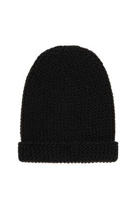 Bonnet épais en maille - Chapeaux   - Sacs et accessoires  - Topshop en français