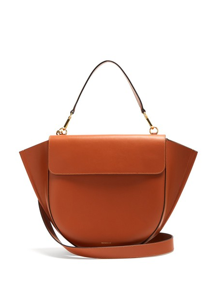 Wandler bag leather bag leather tan