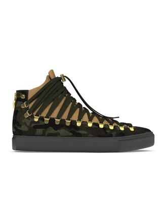 hair women sneakers leather suede grey metal shoes