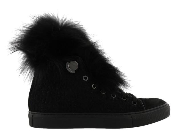 moncler black shoes