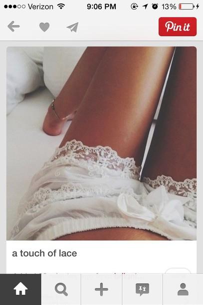shorts white lace shorts white shorts white summer shorts