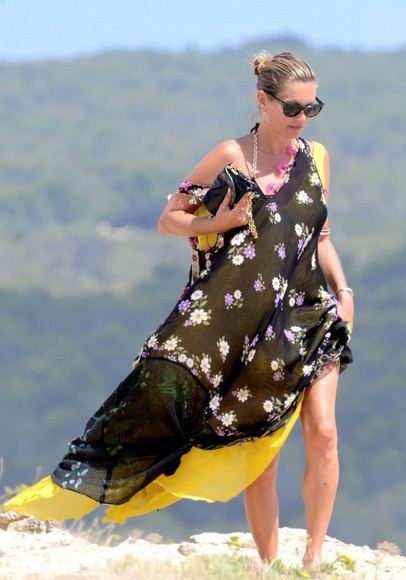dress kate moss summer outfits maxi dress
