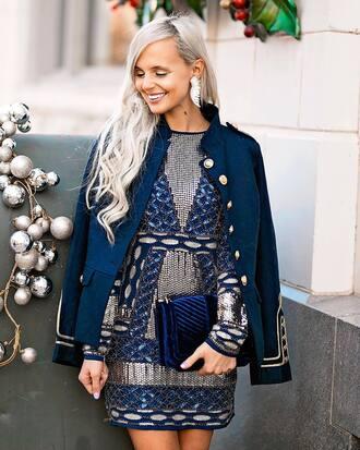 handbag blue handbag mini dress bag dress