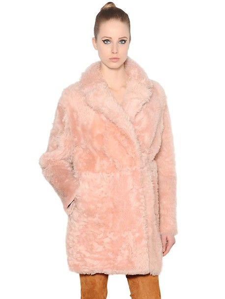 DROME coat pink