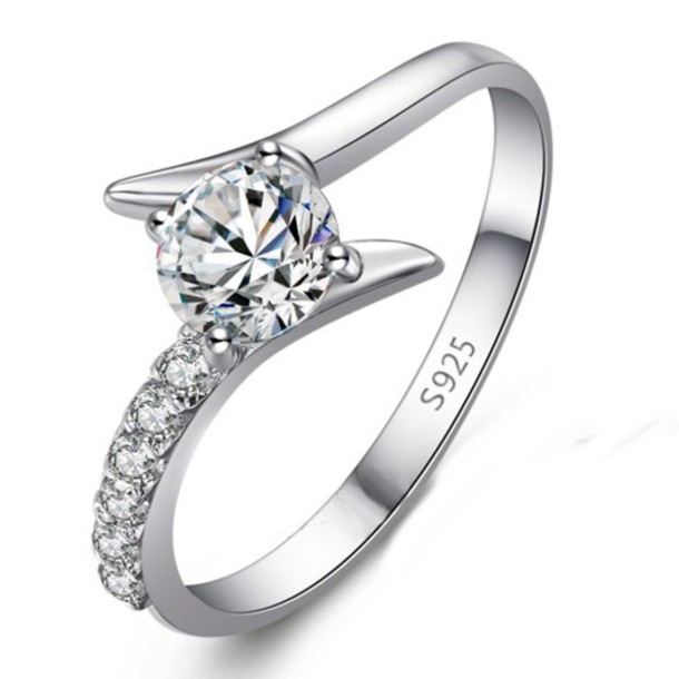 Jewels Anniversary Ring For Her Engraved Ring For Her Engraved