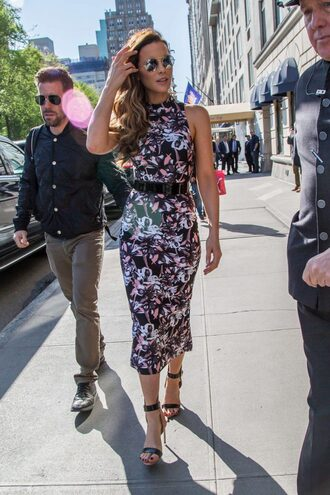 dress sandals midi dress kate beckinsale shoes