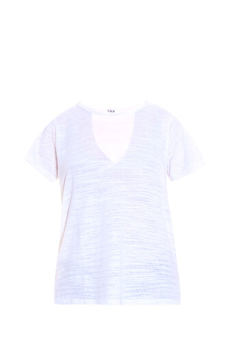 t-shirt shirt cut-out white top