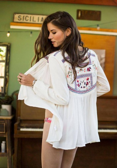 embroidered swimwear cover up bikini cotton summer outfits beach