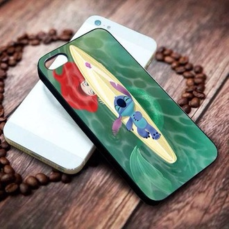 phone cover disney the little mermaid lilo and stitch walt disneyworld mickey mouse