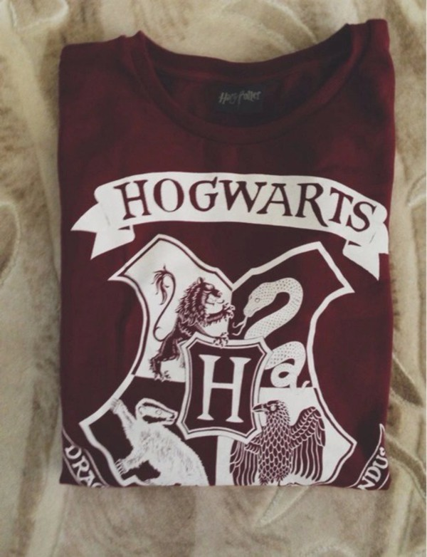 sweater hogwarts harry potter