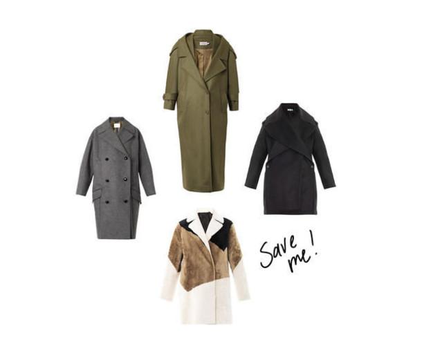zanita blogger long coat winter coat coat