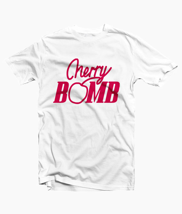 c824631715de34 Cherry Bomb T Shirt Graphic Tees Merch T Shirt For Men Women