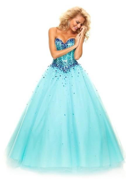 dress, prom dress, 2015 prom dress, long prom dress, tulle prom ...
