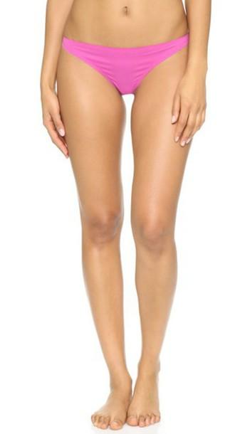 Stella McCartney thong rose lace violet underwear