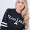 Team paris printed sweatshirt – glamzelle