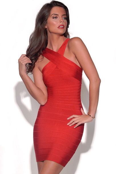 dress red dress sexy dress red bodycon dress red bandage dress holiday dress christmas dresses party dress night out dress celebrity style