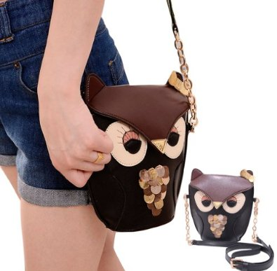 Leegoal Owl Satchel Messenger Women Shoulder Bag Cute Girls ... d3f08657b