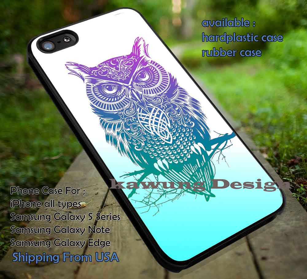 Tattoo owl aztec iphone 6s 6 6s 5c 5s cases samsung galaxy for Tattoo artist iphone cases